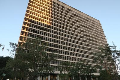 LA Criminal Court building exterior