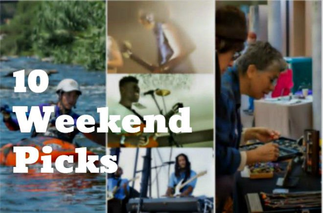 Eastside Weekend: Dark '80s Night; NELA Gallery Night; Donuts & photo shoot at Echo Park Lake