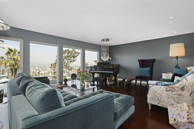 For Sale: Swanky Adams Hill Mid-Century with Jetliner Views