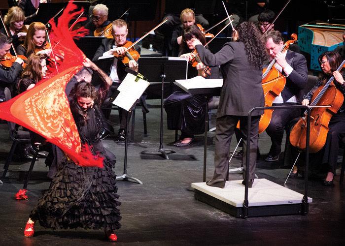 Maria Bermudez with Santa Cecilia Orchestra