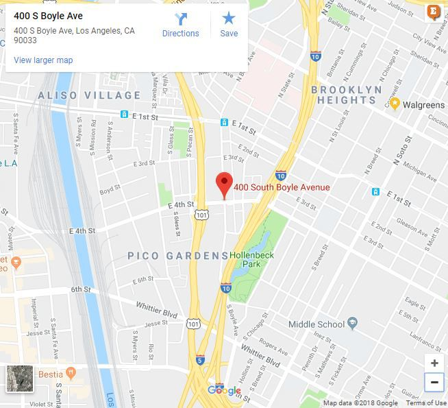 Boyle Heights apartment fire on Boyle Avenue extinguished