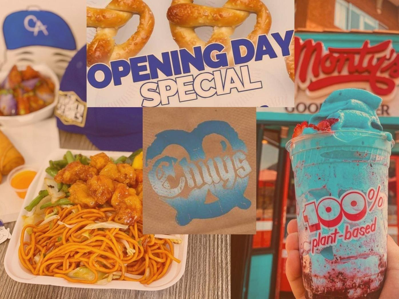 Dodgers' Opening Day Specials