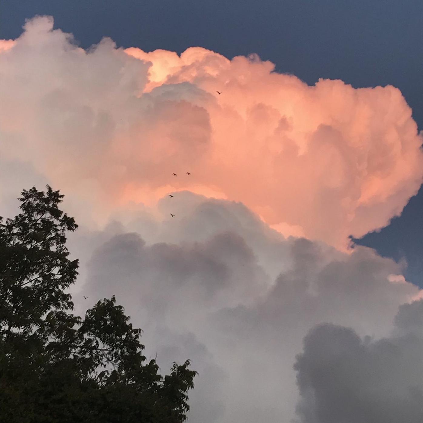 Super Clouds over Silver Lake