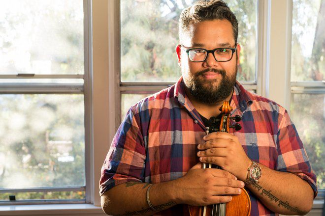 "Echo Park violinist and activist Vijay Gupta awarded $625,000 ""genius grant"""
