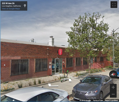 Google Street view of 220 W Avenue 26 Lincoln Heights