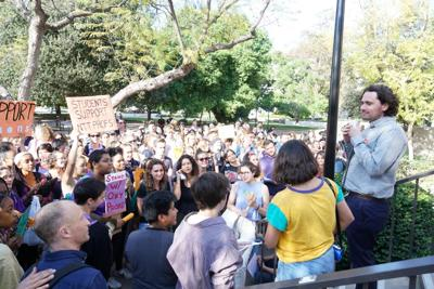 Union rally at Occidental College