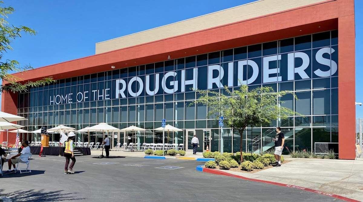 new Roosevelt High gym