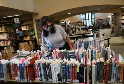 Highland Park librarian stays busy during the pandemic