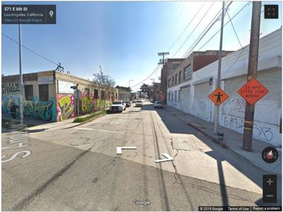 Google Street View of Sixth and Anderson in Boyle Heights