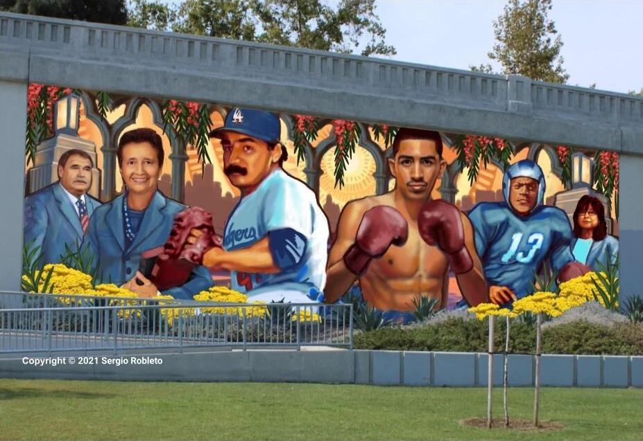 Mural for Spring Street Bridge
