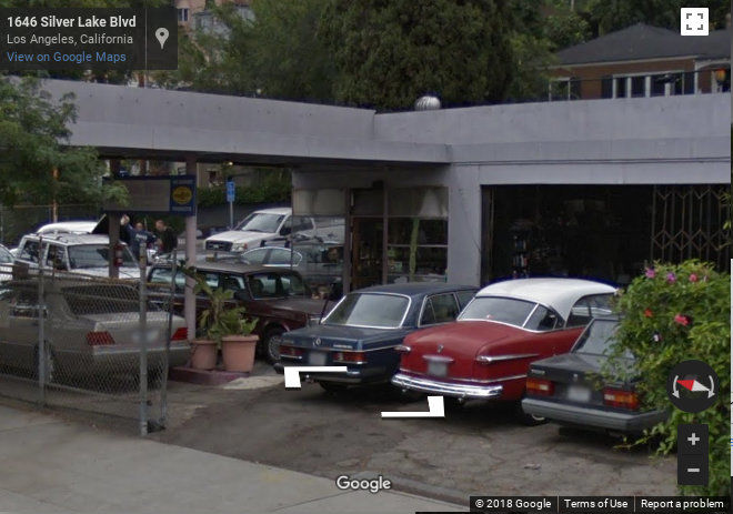 Will a Silver Lake service station become a historic monument or an apartment building?