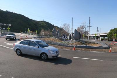 Cypress Park Roundabout