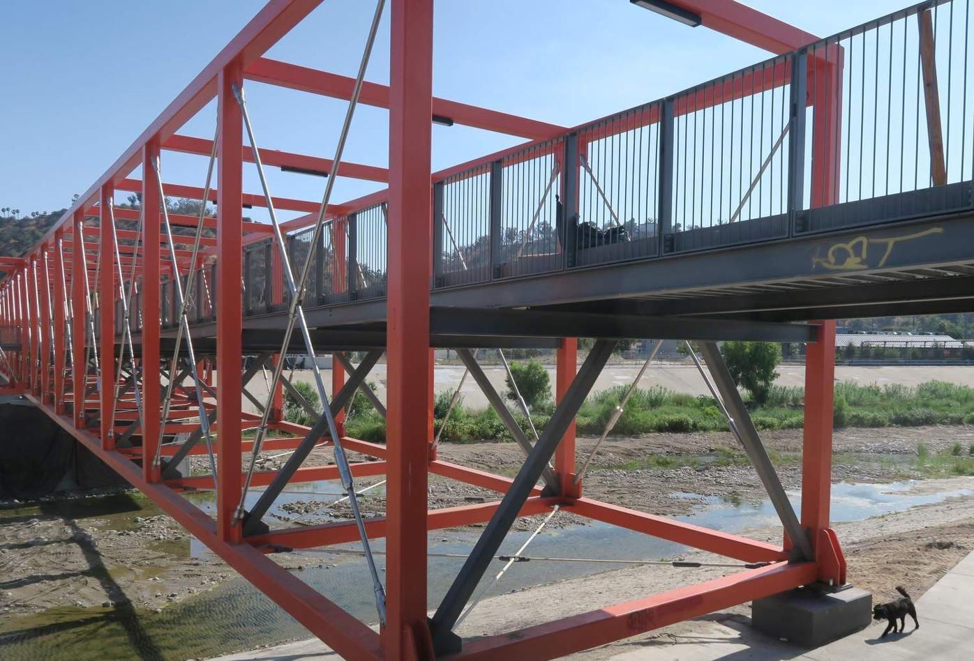 Taylor Yard Bridge deck