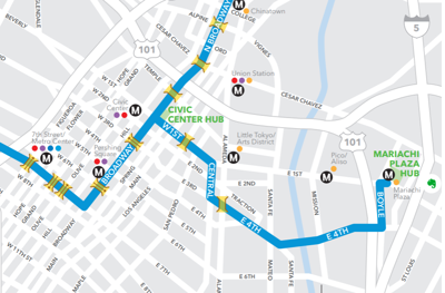 Ciclavia October 2019 Map