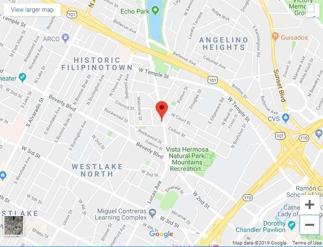 Echo Park auto body shop fire extinguished