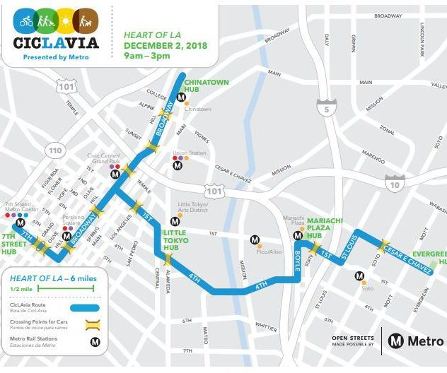Ciclavia to roll into Boyle Heights on Sunday