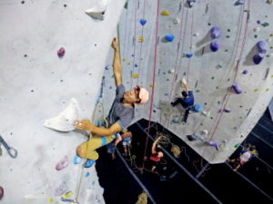 Give the Gift of Climbing at the Stronghold in Lincoln Heights