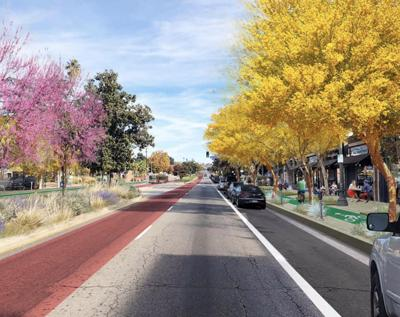 Beautiful Boulevards rendering of Colorado Boulevard