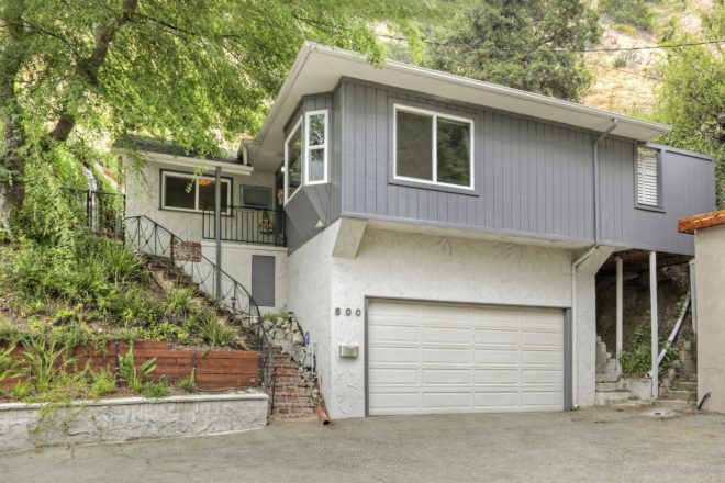 For Sale: Peacefully set in Chevy Chase Canyon — renovated Mid-Century Bungalow