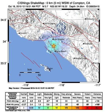 Compton quake felt on Eastside