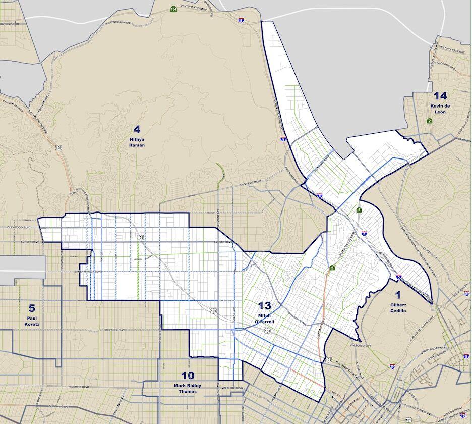 Council District 13 map