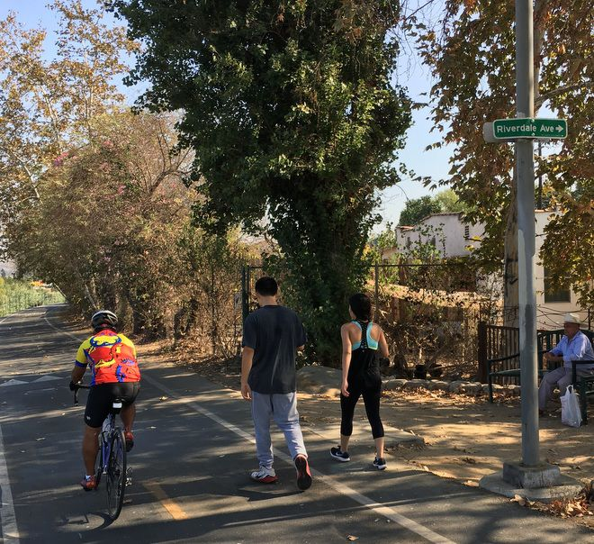 Councilman tells competitive cyclists to steer clear of the L.A. River Path