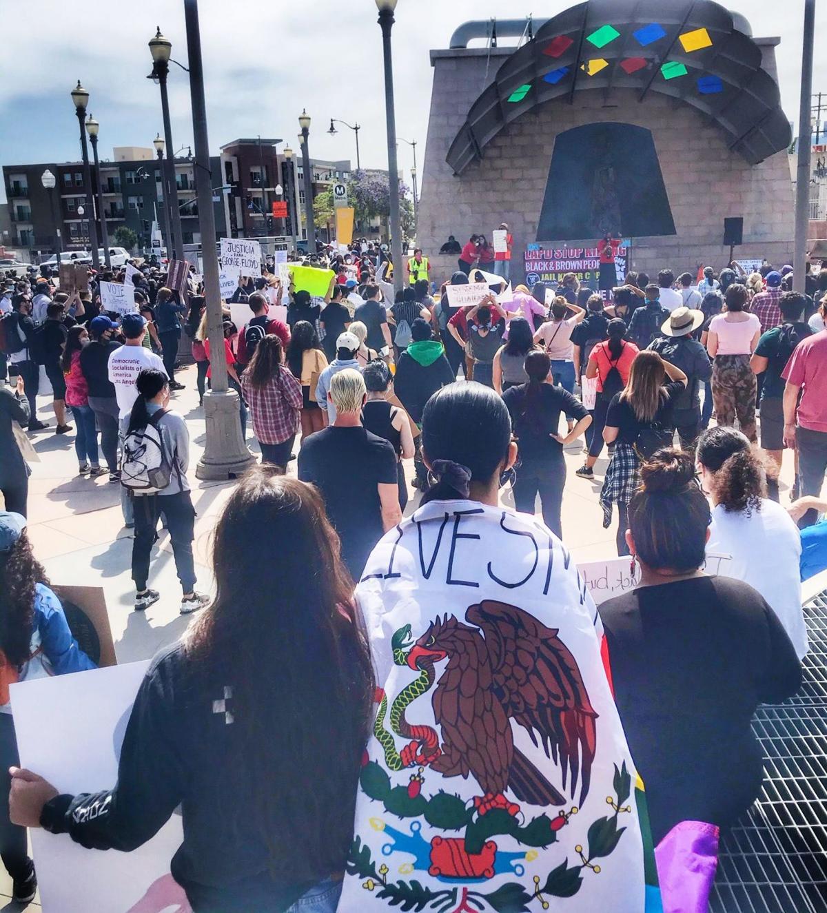 Mariachi Plaza Protest