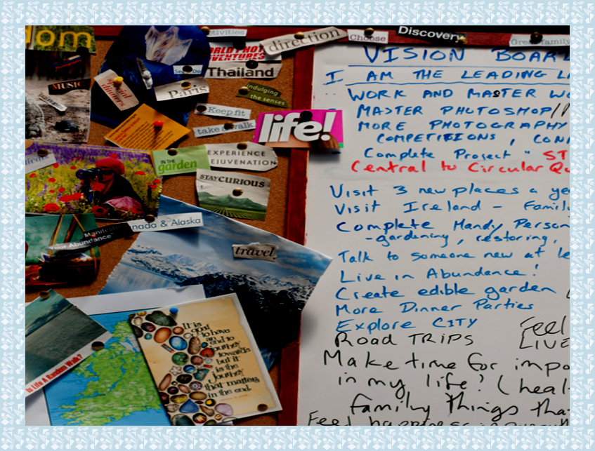 Image of vision board craft