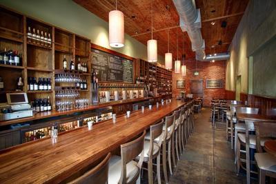Tropicalia wine room