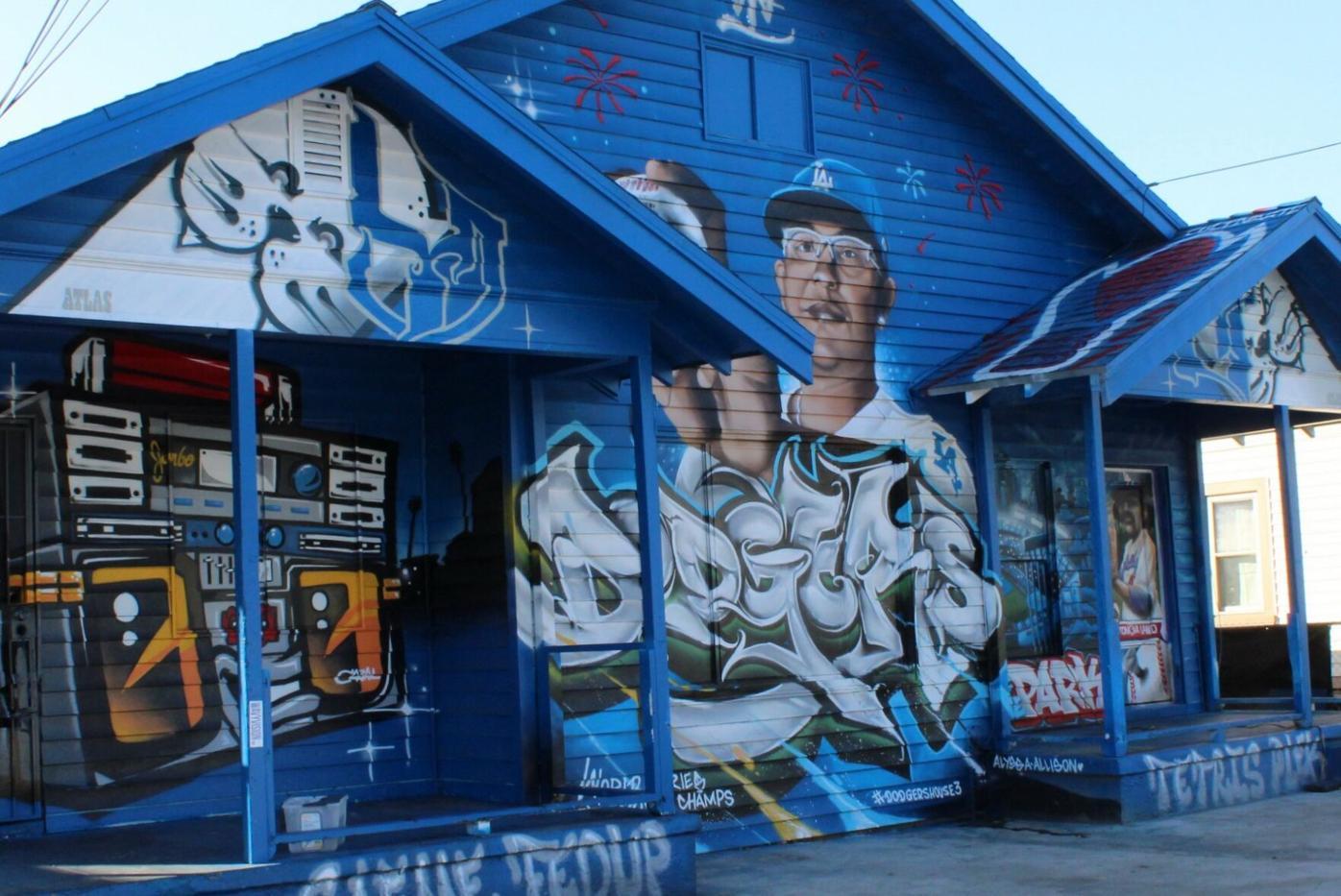 East LA Dodgers House.