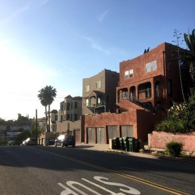 Scott Avenue Apartment Row Echo Park