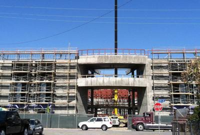 New construction changes face of East L.A.'s Garfield High