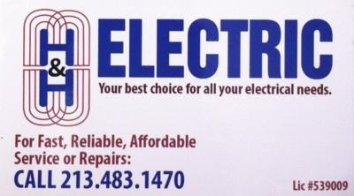 H & H ELECTRIC: Fast, Reliable & Affordable