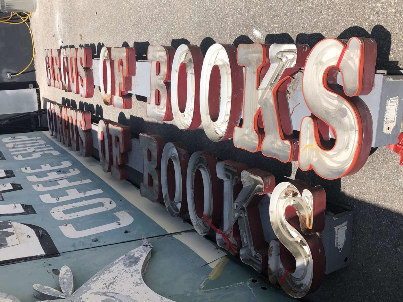 Circus of Books sign
