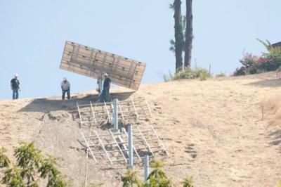 Work to resume on Montecito Heights solar panel project