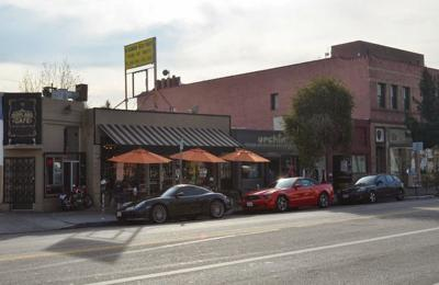 Who is responsible for the gentrification of Eagle Rock & Highland Park?