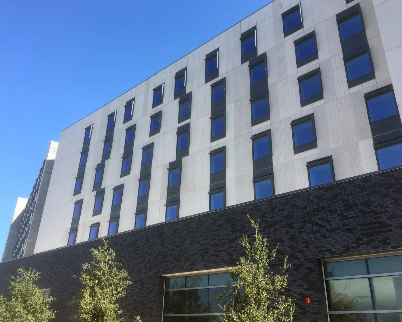 New Cal State LA dorm building