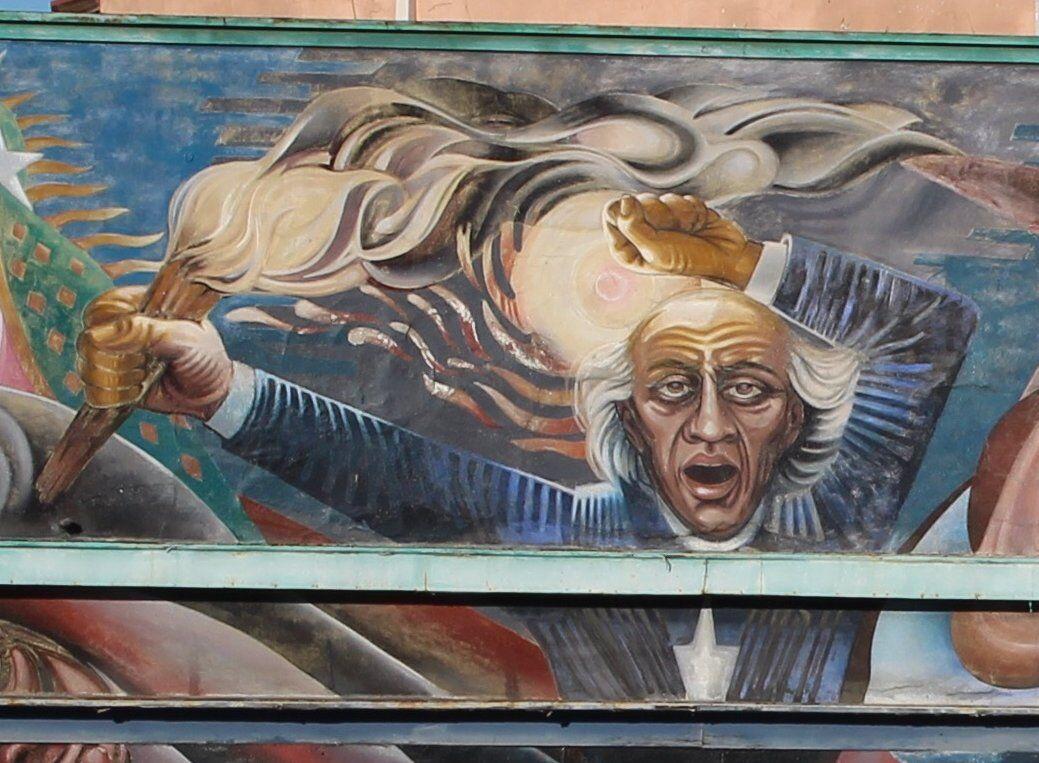 Hidalgo mural 1