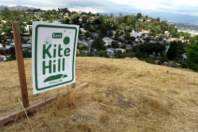 Save Kite Hill Sign in Elysian Heights