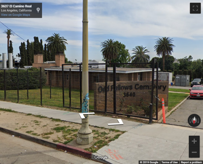 Fire breaks out in Boyle Heights mortuary