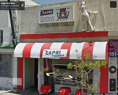 Google Street view of The Capri