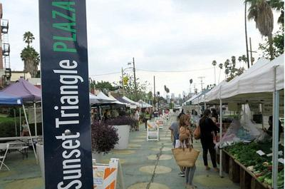 Sunset Triangle Plaza grows into a Silver Lake staple