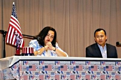 Voters take time out from World Series to hear State Assembly candidates debate the issues