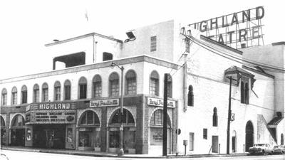 Highland Theatre celebrates 90 years of movie-going in Highland Park