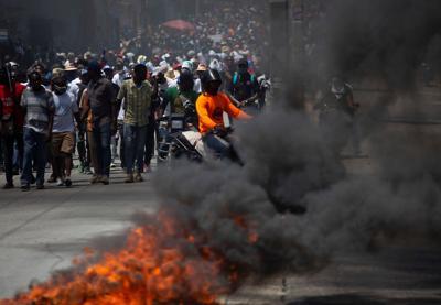 HAITI-NATIONAL-STRIKE