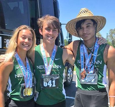 track athletes