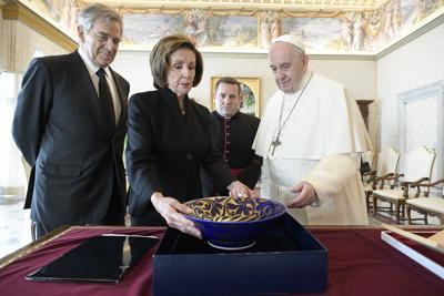 POPE-PELOSI-COP26