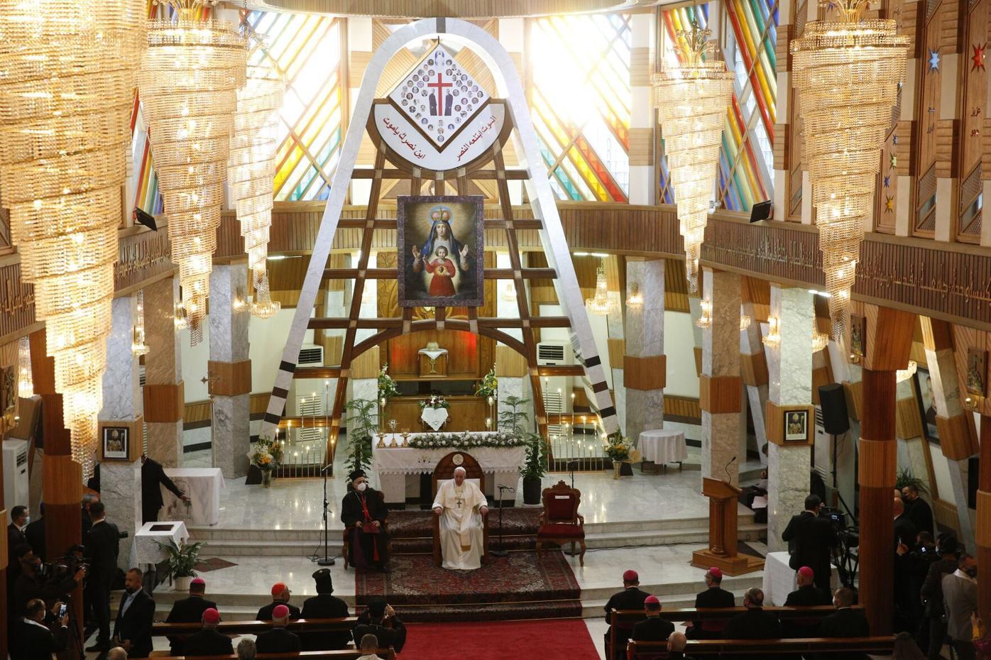 POPE-IRAQ-DELIVERANCE