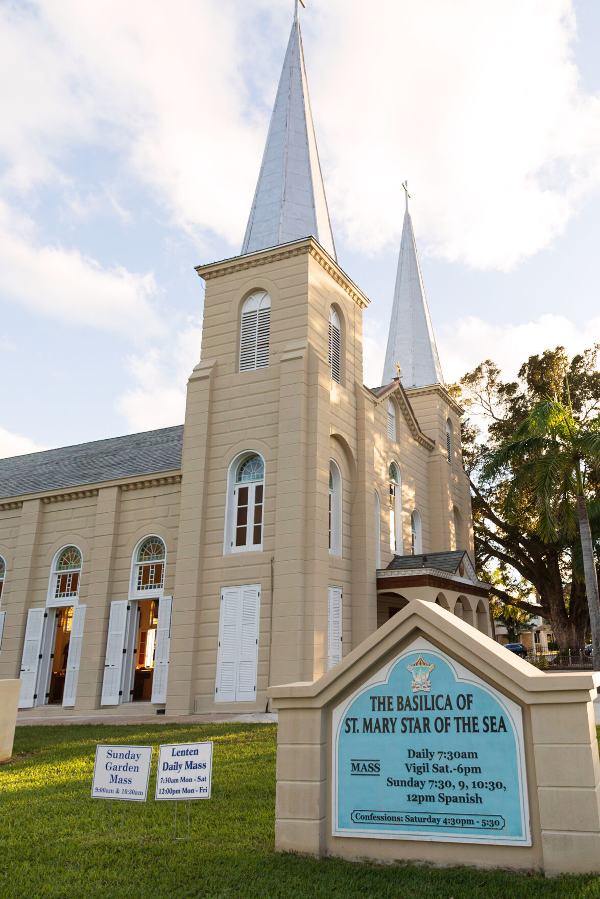 Basilica of St. Mary Star of the Sea in Key West