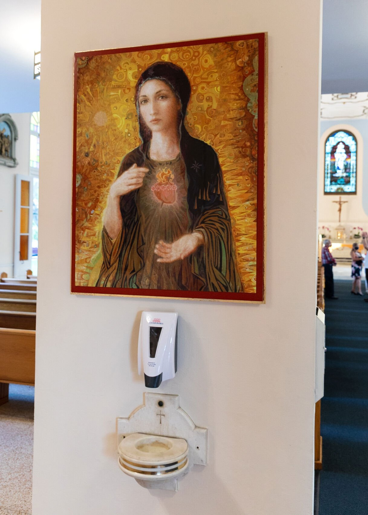 Our Lady of Mercy and Jesus of Mercy